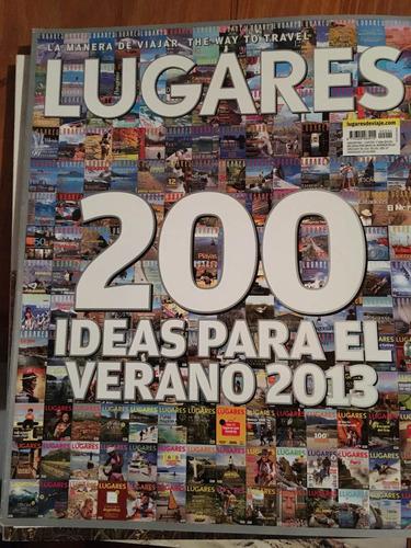revista lugares - 200 ideas para el verano