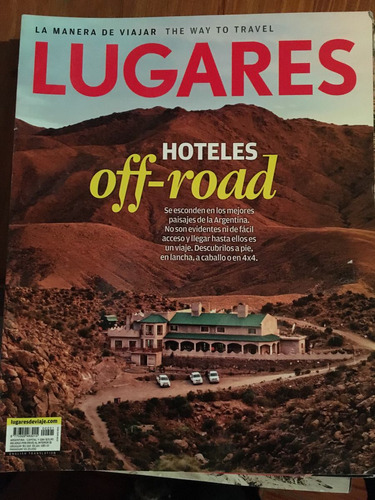 revista lugares - hotels off road