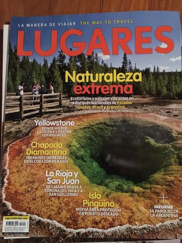 revista lugares - naturaleza extrema