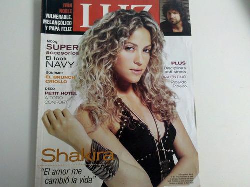 revista luz (argentina). shakira. n° 84