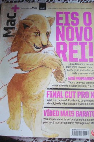 revista macmais mac+ número 063