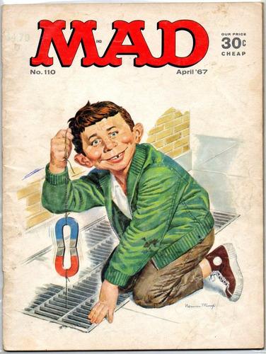 revista mad #110 - abril 1967 - de colección!