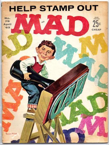 revista mad #78 - abril 1963 - de colección!