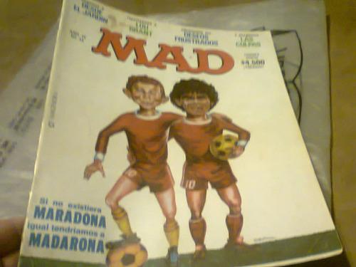 revista mad arg #42 magendra maradona y madarona retro kxz