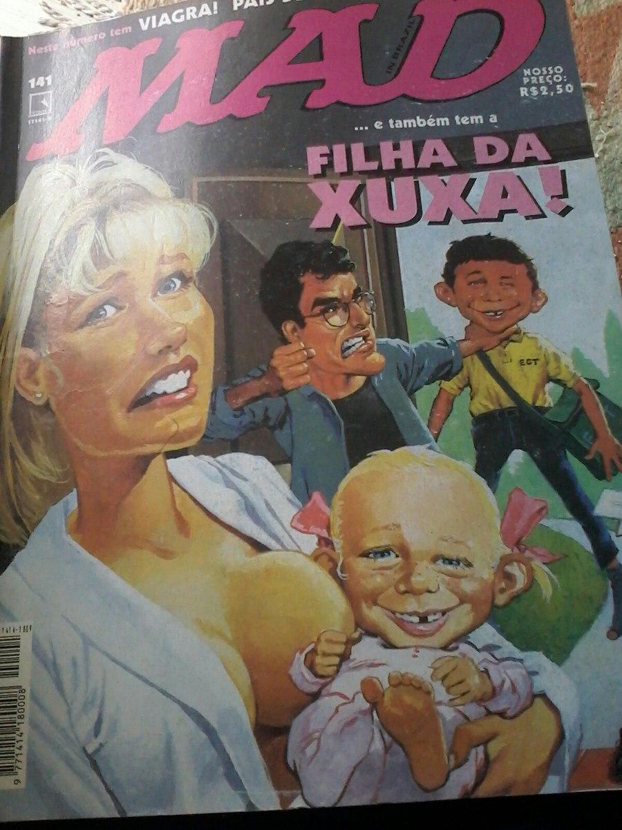 Revista Mad Com Xuxa E Sasha - R$ 130,00 em Mercado Livre