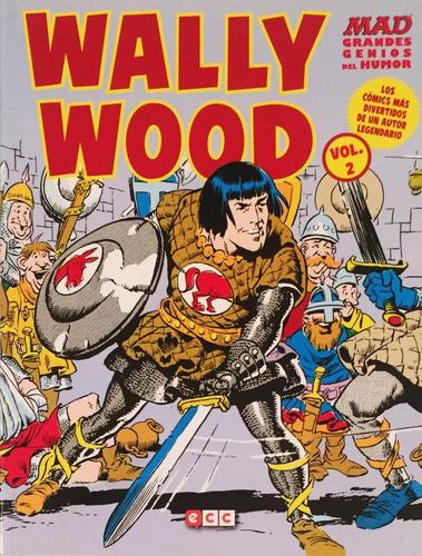 revista mad - grandes genios del humor wally wood vol. 02