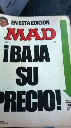 revista mad (lotes x 3 revistas)