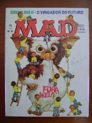 revista mad n. 67 outubro 1990