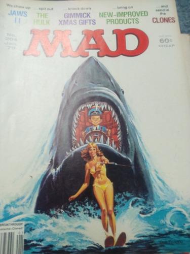 revista mad num 204 enero 1979, en inglés