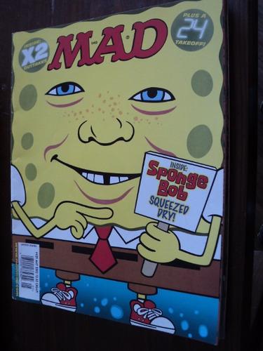 revista mad numero 429  año 2003  en ingles bob esponja szw