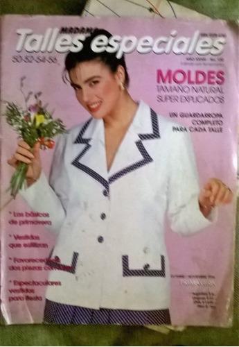 revista madame moda con moldes talles especiales