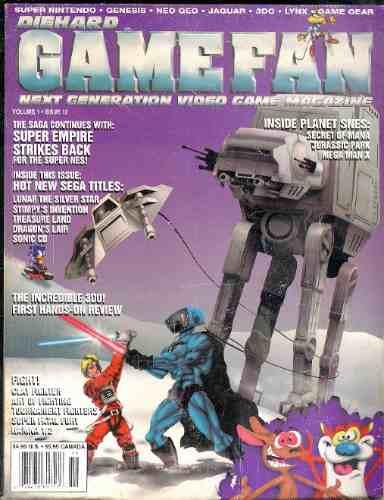 revista  magazine de game fan 1993 -