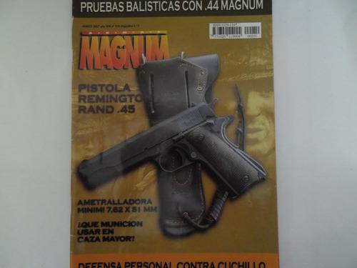 revista magnum 210 pistola remington rand 45