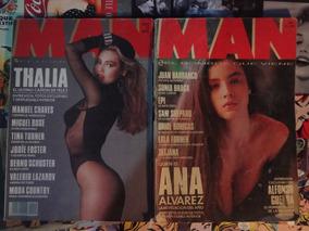Revista Man Sonia Braga Desnuda Thalia Luz Casal Tina Turner