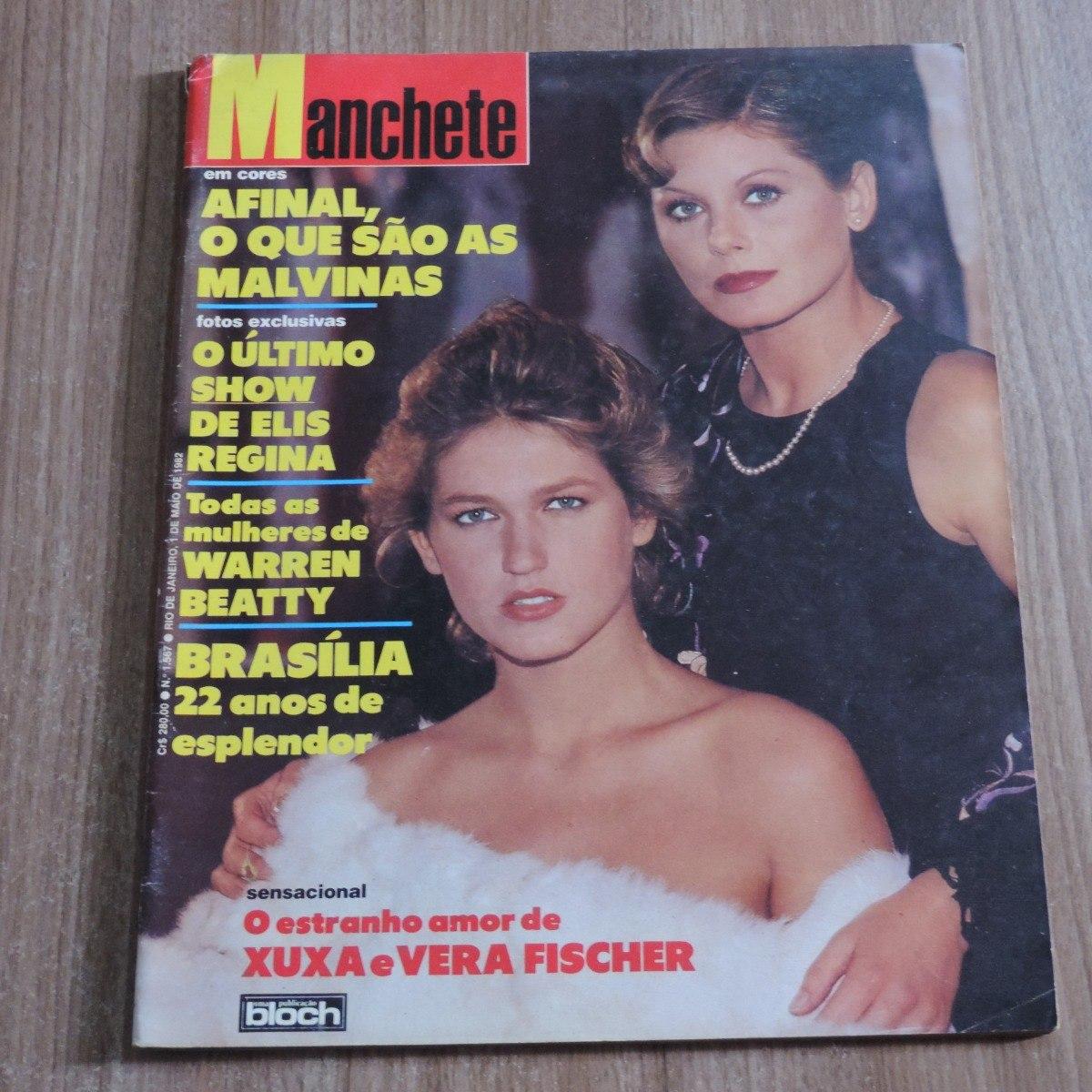 Amor Estranho Amor 1982 revista manchete 1567 maio 1982 xuxa vera fischer