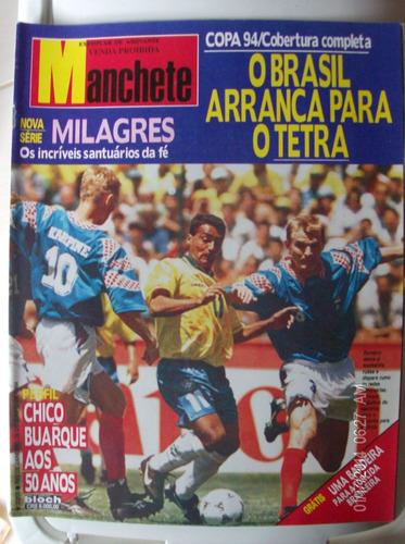 revista manchete 2203 romario o brasil arranca para o tetra