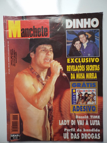 revista manchete - mamonas assassinas - n 2293