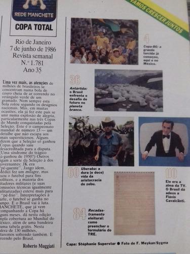 revista manchete nº 1781 stephanie vira superstar de 1986