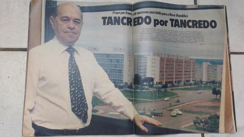 revista manchete tancredo neves edição histórica frete gráti