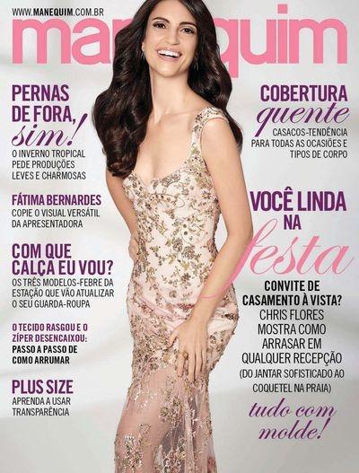 f0e51c068c Revista Manequim 699   Chris Flores Junho 2017 Moldes Nova! - R  19 ...