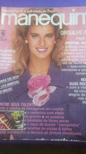 revista manequim  de abril de 1988