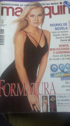 revista manequim edição 466 outubro de 1998