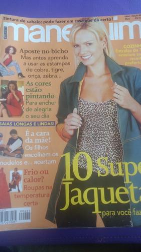 revista manequim edição 485. maio 2000