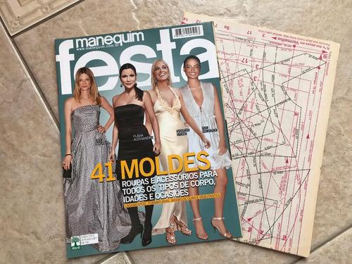 revista manequim festa 41 moldes isis valverde sharon stone