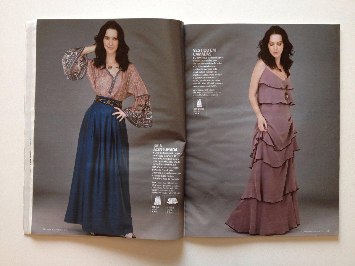 eb5737482 Revista Manequim Nathalia Dill Ano 2011 N°622 - R  23