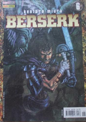 revista mangá berserk nº 6 (1 serie) - kentaro miura - pan