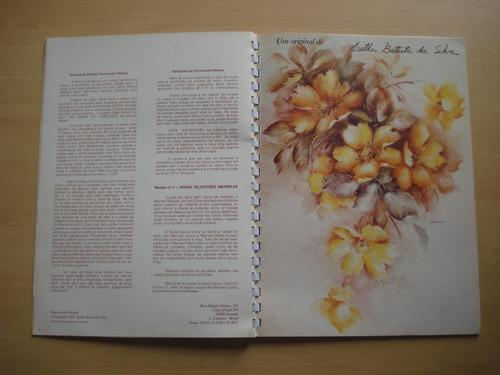 revista maravilhas da pintura em porcelana volume 3