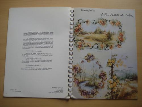 revista maravilhas da pintura em porcelana volume 5