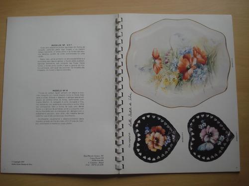 revista maravilhas da pintura em porcelana volume 9