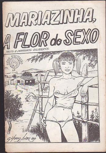 revista mariazinha a flor do sexo - serie excitaçao