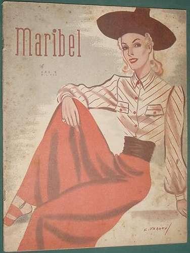 revista maribel 433 -4/2/41- madeleine carroll gary cooper