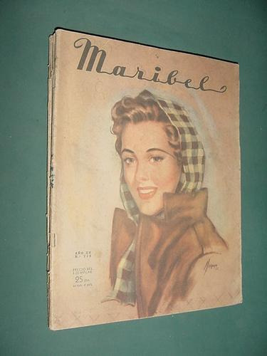 revista maribel 715 jul46 accesorios prácticos y abrigos