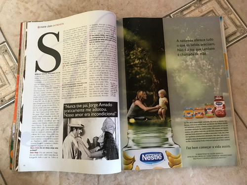 revista marie claire 183 paola oliveira sonia braga ano 2006