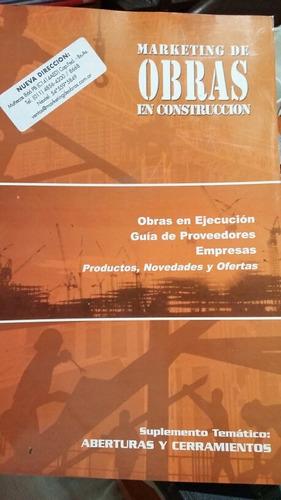 revista marketing de obras en construcción