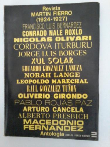 revista martín fierro antología (prólogo de beatriz sarlo)
