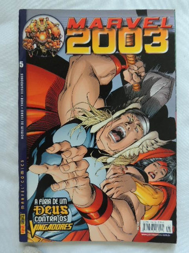 revista marvel - n °6 comics - anos 2000 (rh 81)