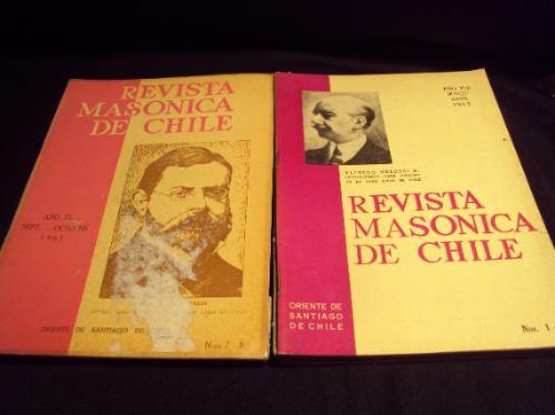 revista masonica de chile 1963 - 1964 - 1965 (6)