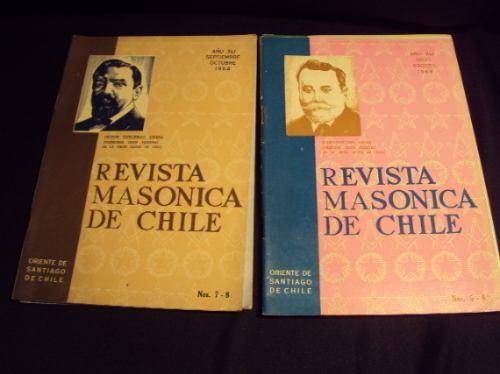 revista masonica de chile 1964  -  1965 (5)