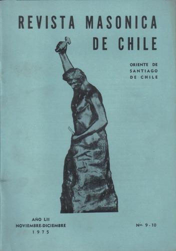 revista masónica de chile / noviembre diciembre 1975