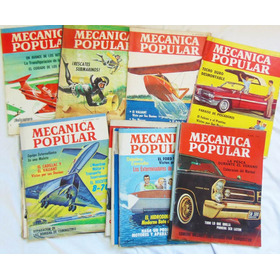 Revista Mecanica Popular / Números Discontinuos 1962-1971