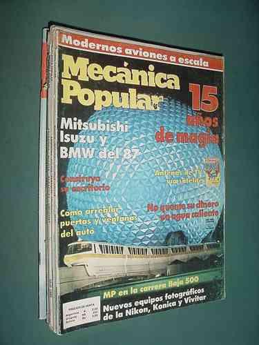 revista mecanica popular feb87 mitsubishi isuzu bmw fotograf