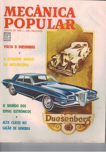 revista mecanica popular -  junho de 1966