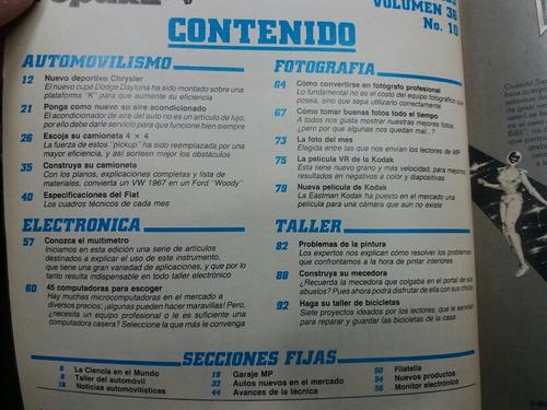 revista mecanica popular - octubre 1983 - año 36 #10