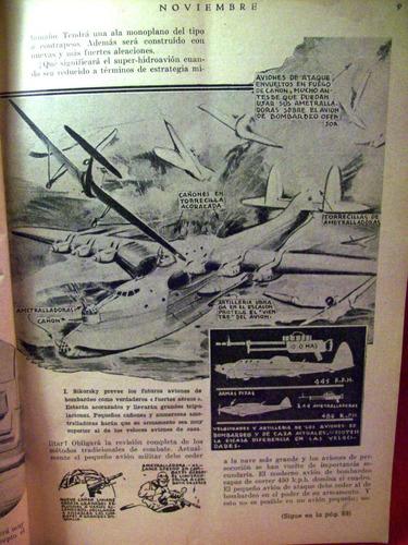 revista mecanica y ciencia moderna nº3 año 1936 buenos aires