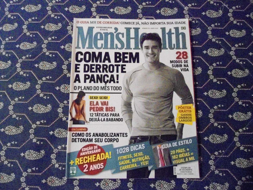 revista men´s health - maio 2008