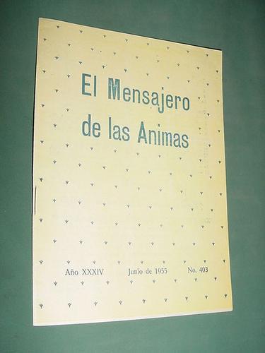 revista mensajero de las animas 403 jun55 museo purgatorio